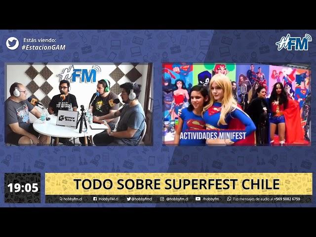 Estación Gam / todo sobre Superfest Chile - 15 de enero 2020