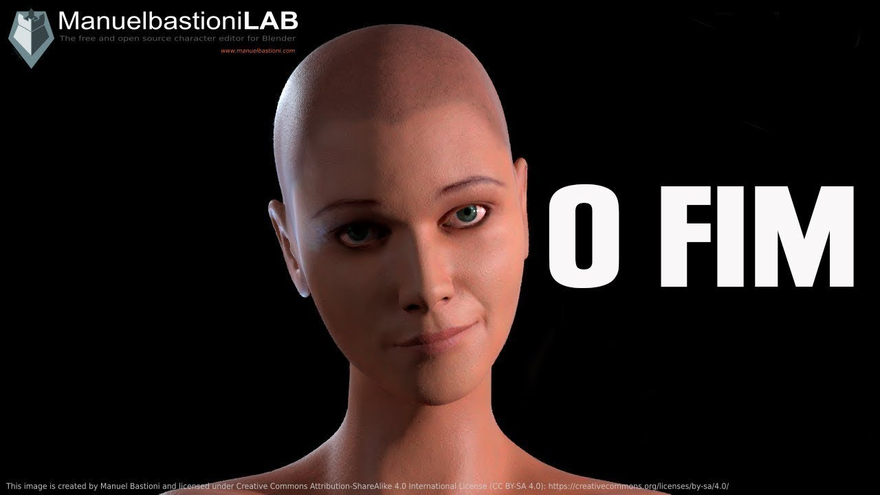 O Fim da Tool de Criação de Personagens, Manuel Bastioni LAB