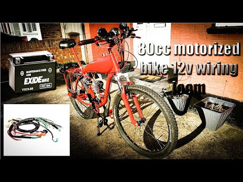 80cc bicycle engine kit 12v wiring loom - Most Popular Videos