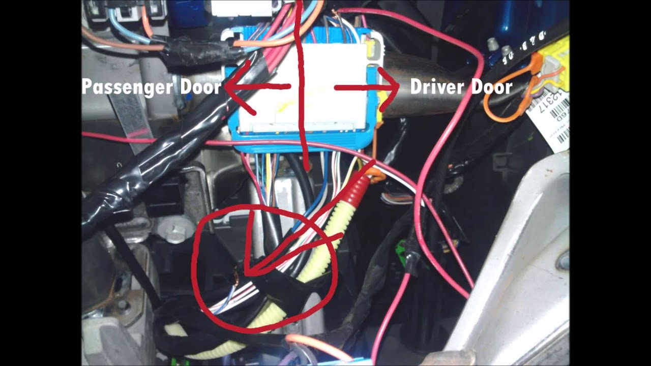 Relay Wiring Diagram Also 2005 Chevy Trailblazer Radio Wiring Diagram