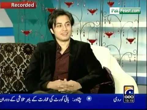 Ali Zafar on Nadia Khan Show (Part 1)