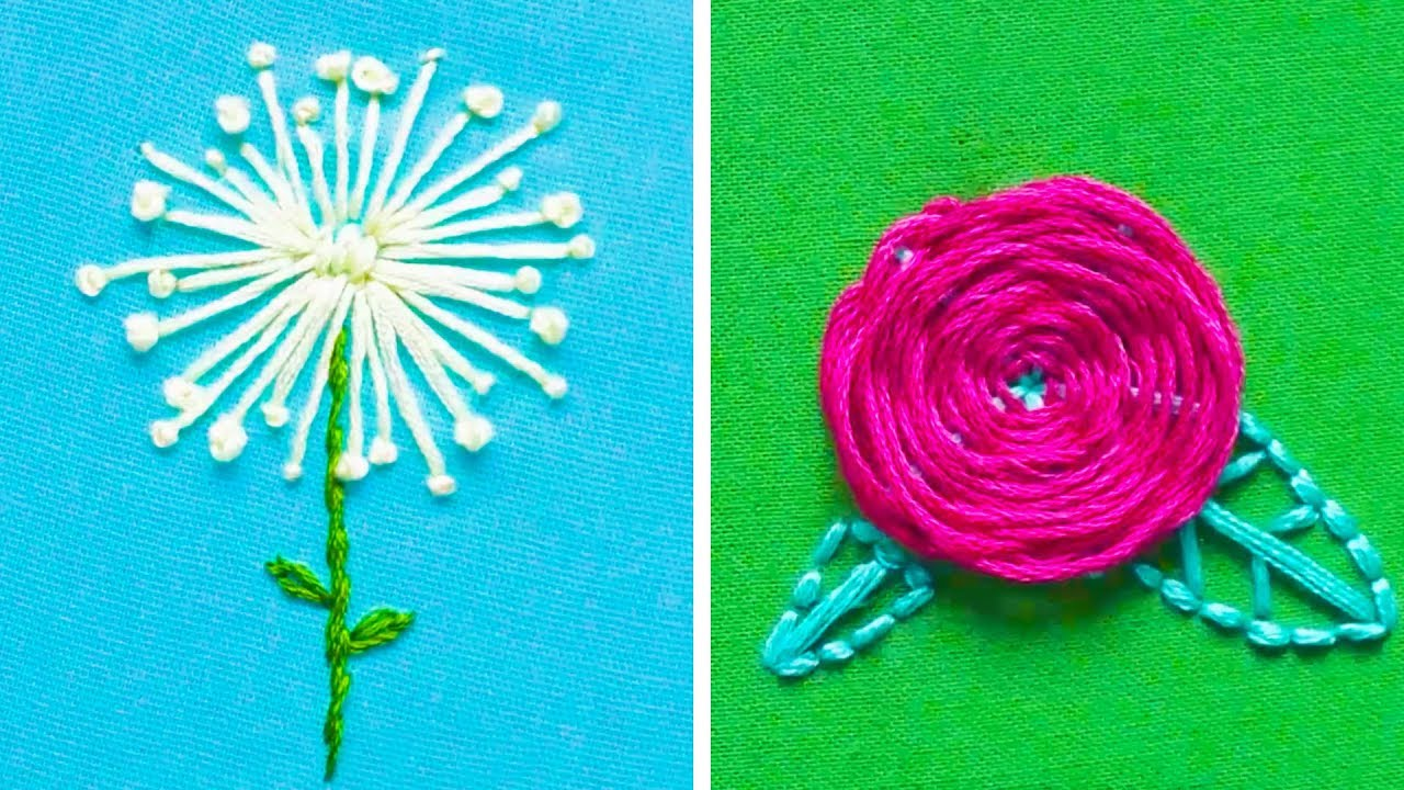 12 SIMPLE EMBROIDERY HACKS AND TECHNIQUES