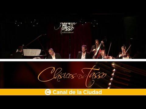 """""""La aplanadora del tango"""", el Sexteto Mayor se presentan con María Graña en Clásicos de Tasso"""