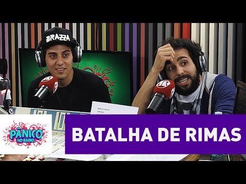 Fabio Brazza X Murilo Couto: Veja Batalha De Rimas Da Zoeira | Pânico