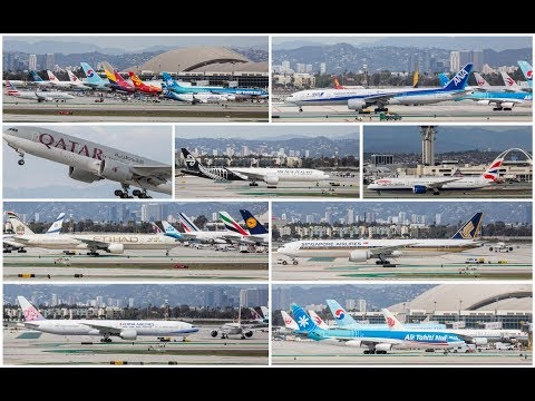 Plane Spotting at LAX - March 2018