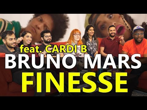Group Reaction - Bruno Mars - Finesse feat. Cardi B.