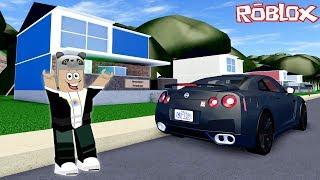 Çok Hızlı Bir Araba Aldık!! - Panda ile Roblox Ultimate Driving: Delancy Gorge