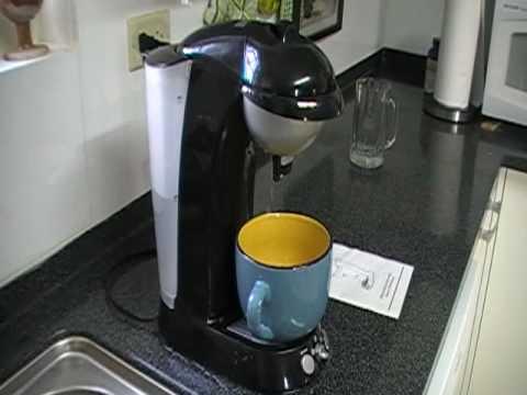 Gevalia Coffee Maker Not Working : Gevalia G90 Pod Coffee Maker Malfunction - YouTube