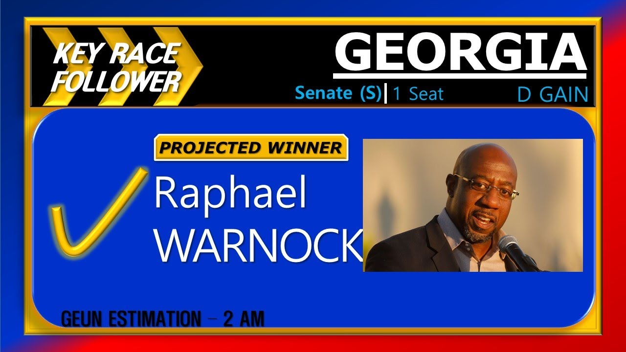 [Election Night in Georgia 2021]LIVE Election Night Results Coverage - Senate Runoffs [Part 1]