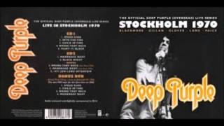 Deep Purple-Stockholm 1970 & Paris 1970(2 Songs) audio restored