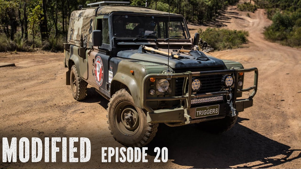 Land Rover Defender 110 Modified Episode 20 Youtube