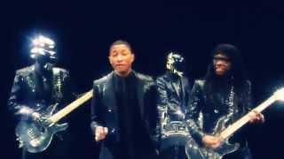 Daft Punk   Get Lucky Ft Pharrell Williams & Nile Rodgers)   FAN EDIT