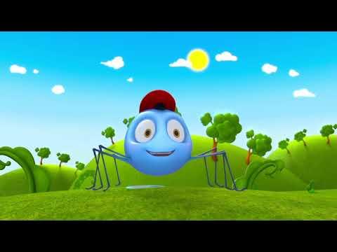 Инси-Винси паучок | Incy Wincy Spider Nursery Rhymes 🕸️ NEW! Песенка и Мультфильм