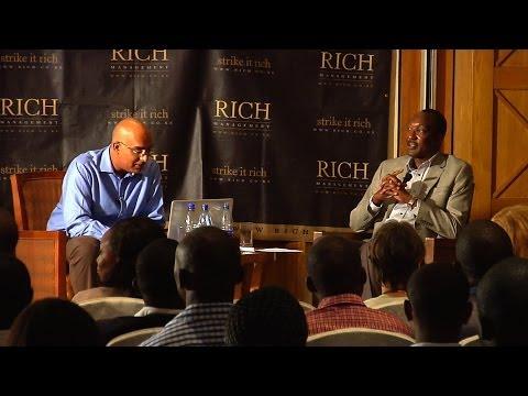 MindSpeak: Dr Titus Naikuni Group, MD and CEO,Kenya airways