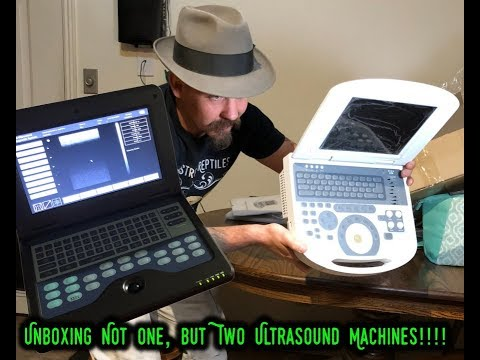 Unboxing Not One, But Two Ultrasound Machines!