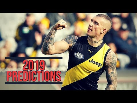2019 AFL Predictions