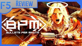 Bullets Per Minute Review: Hard Rocking Rhythm Shooting! (Video Game Video Review)