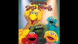 Opening To Sesame Street:Sesame Sings Karaoke 2003 DVD