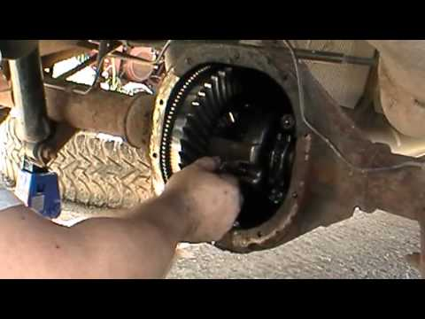 1998 ford ranger rear differential reassembly how to save money and do it yourself. Black Bedroom Furniture Sets. Home Design Ideas