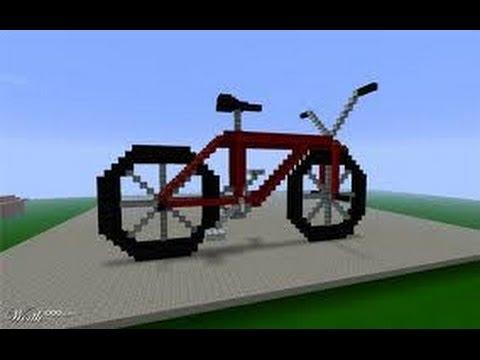 велосипед в майнкрафт #8