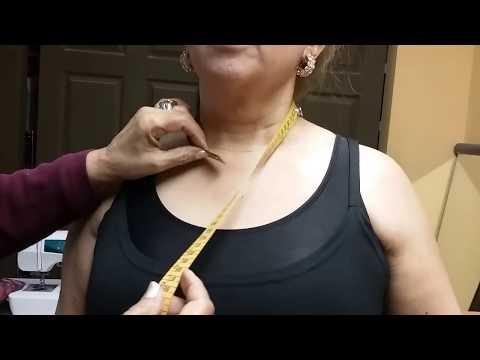 DIY Cómo tomar medidas para la alta costura. Lección # 1 ( OFICIAL DE Alta Costura Kazan)