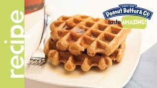 Whole Wheat Peanut Butter Banana Waffles Recipes