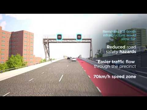 Sydney Harbour Bridge Northern toll plaza precinct upgrade