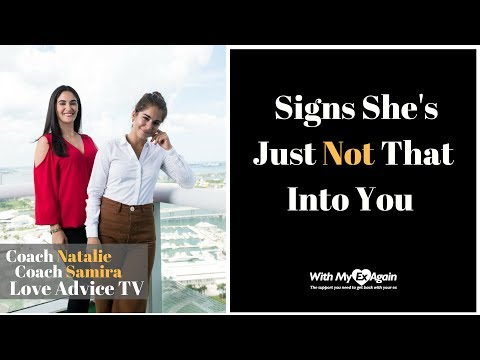 Signs She's Not Into You