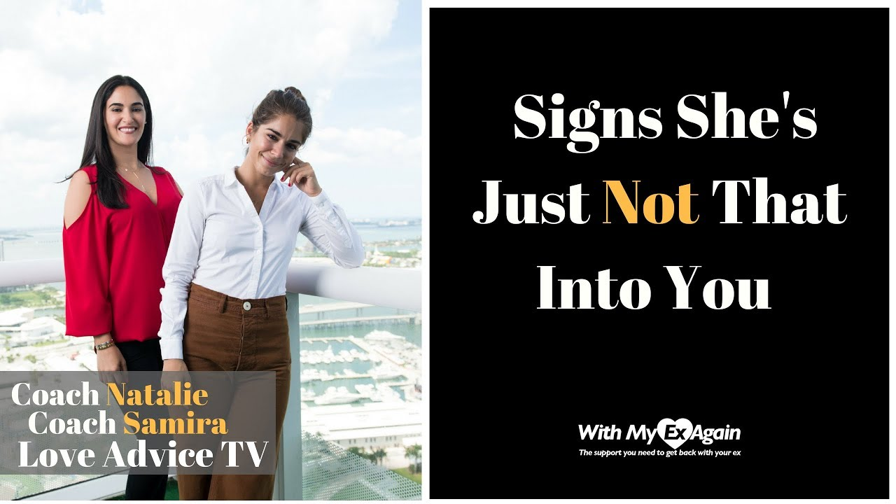 Signs shes over you