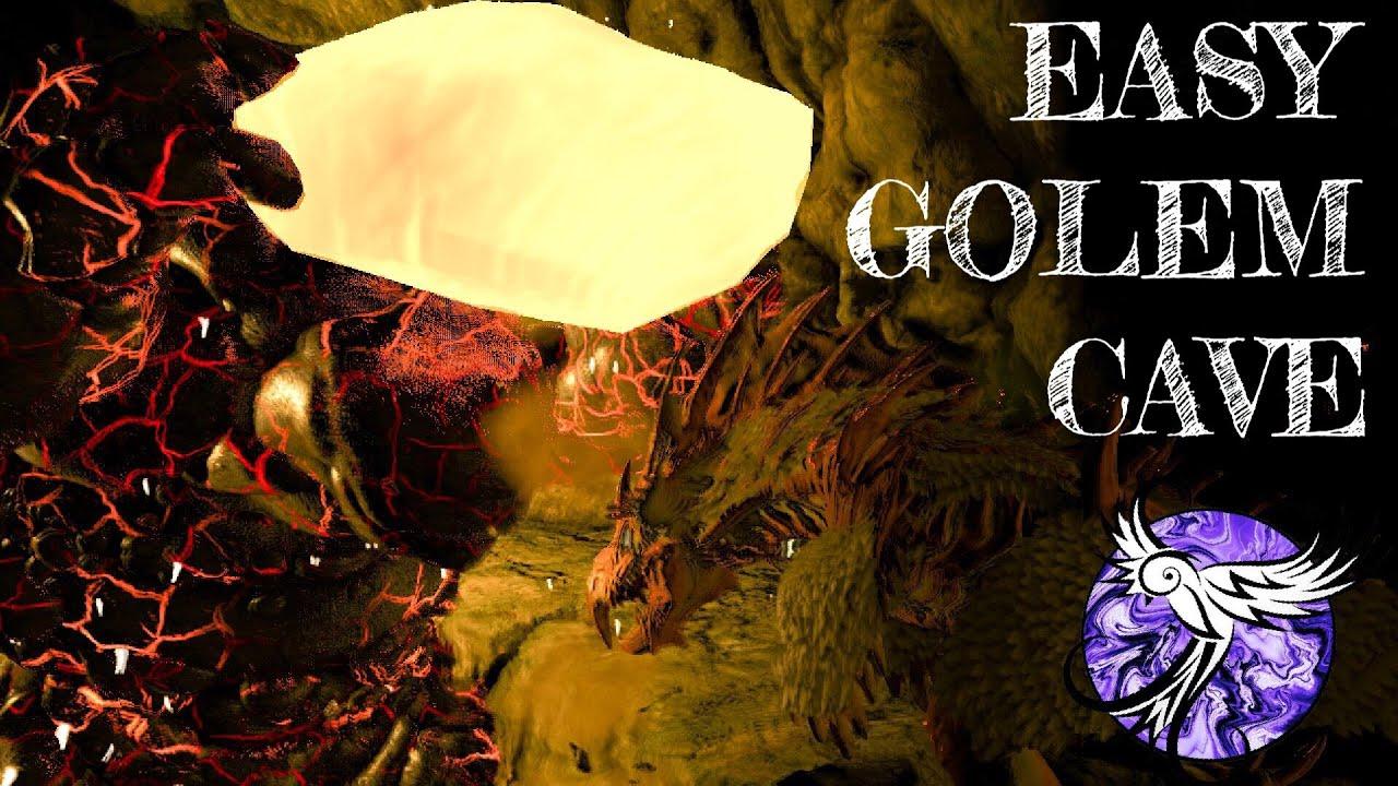 SPIDERS MAKE THE LAVA GOLEM CAVE EASY | ARK Survival Evolved thumbnail