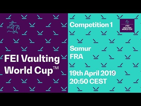 LIVE 🔴 | FEI Vaulting World Cup™ FINAL | Competition 1 | Saumur (FRA)