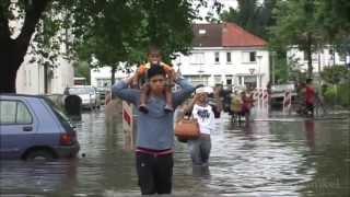 Noodweer Enschede, wateroverlast Twekkelerveld