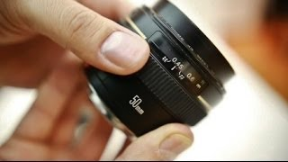 Canon 50mm f/1.4 USM lens review with samples (full frame and APS-C)