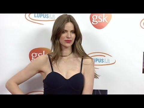 Robyn Lawley at Lupus LA 2018 Orange Ball Red carpet