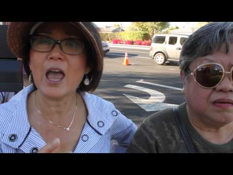 Thai Protesters talk article 112 at 2016 Southeast Asian Summit in Rancho Mirage, Ca
