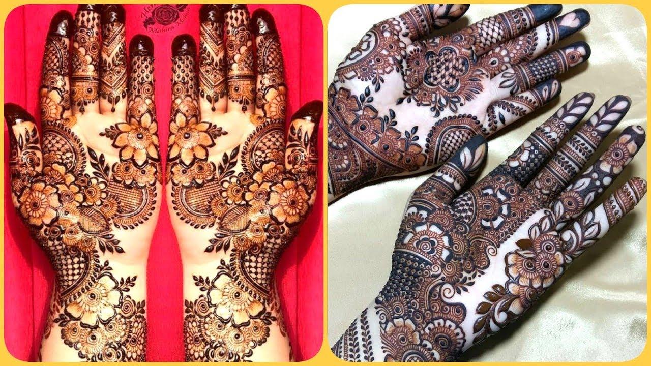 Trending Mehndi Designs 50 Latest Henna Tattoo Ideas For 2018: Latest Stunning & Trending Bridal Eid Mehndi Designs On