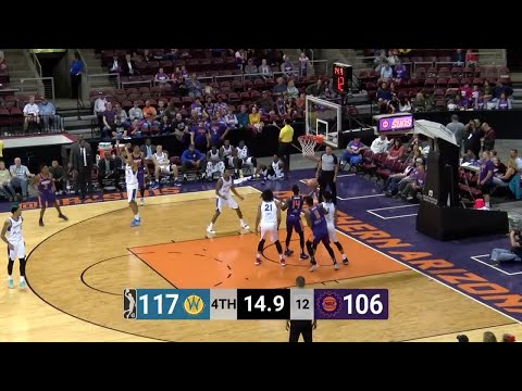 George King (22 points) Highlights vs. Santa Cruz Warriors