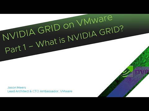 NVIDIA GRID On VMware Part1 - What Is NVIDA GRID?  (vSphere ESXi 6.5 GRID K2) Jason Meers