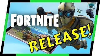 Fortnite - ANDROID RELEASE BATTLE ROYALE | MGQ Ep. 150