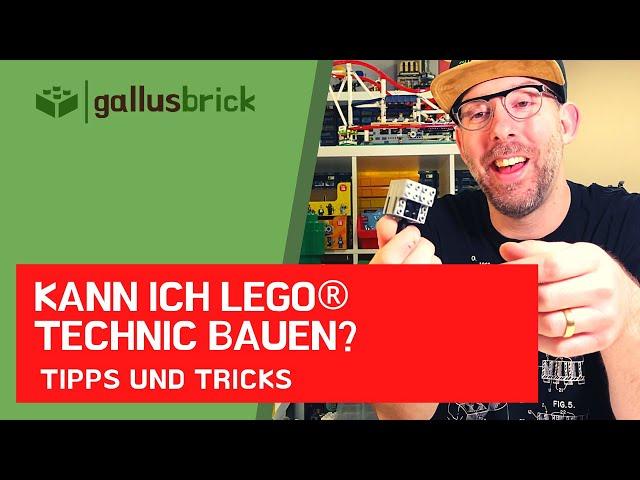 Hast du Probleme mit LEGO Technic? Wie gut bin ich mit Technic vertraut. Mit Buchtipp
