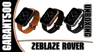 Zeblaze Rover распаковка и знакомство со смарт часами из GearBest.com(Zeblaze Rover смарт часы со схожим дизайном как у Apple Watch Купить можно тут ..., 2015-06-26T13:00:00.000Z)