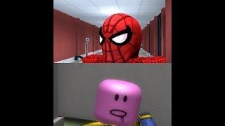 Thanos Thanos Sì papà, ma è in ROBLOX