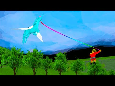 Capturing Pegasus Horses - Let's Play Roblox Horse World - Honey Hearts C Video