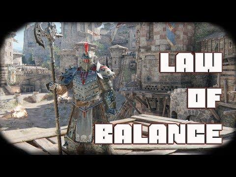 Law of Balance   Lawbringer Duels [For Honor]