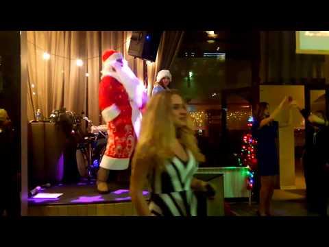 Флешмоб Деда Мороза и Снегурочки