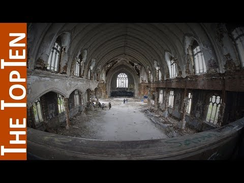 The Top Ten Beautiful Abandoned Churches of the World