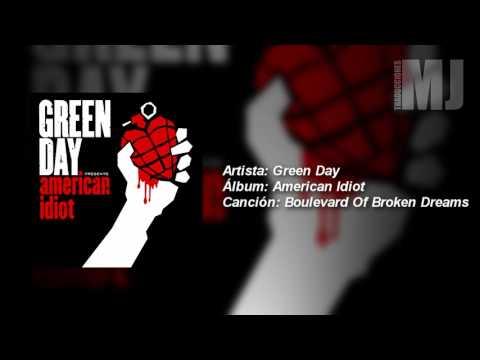 Letra Traducida Boulevard Of Broken Dreams De Green Day
