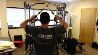 trx shoulder exercises by maven sports medicine