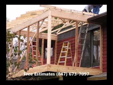 Chicago 2 story porch builders in Chicago 3 story porch builder in Chicago  IL repair companies