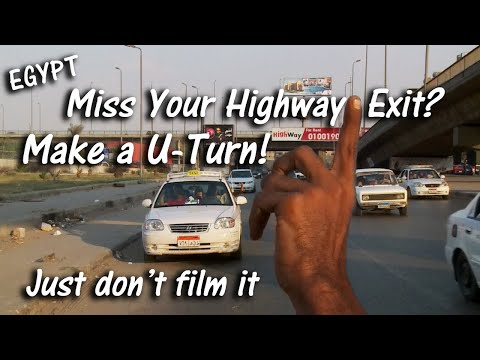 The Essential Guide To Driving In Egypt (Part 4):  HIGHWAYS